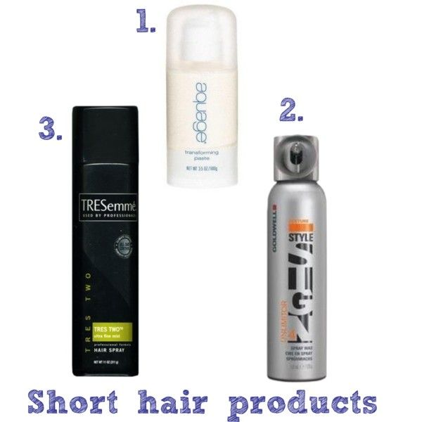 short hair products