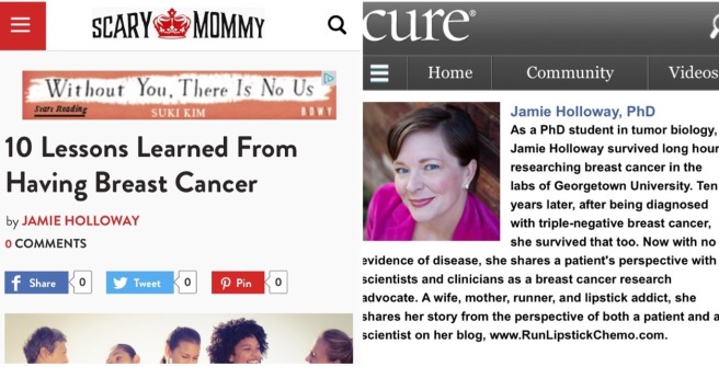 run lipstick chemo jamie holloway cure magazine scary mommy